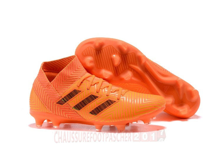 Adidas Chaussure De Foot Nemeziz 18.1 FG Orange