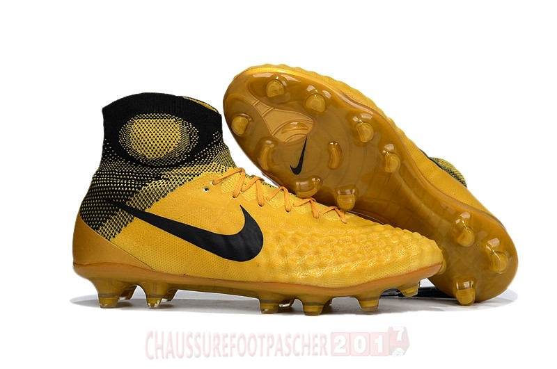 Nike Chaussure De Foot Magista obra II FG Or