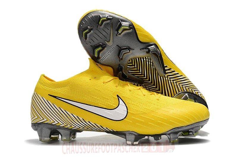 Nike Chaussure De Foot Mercurial Superfly VI 360 Elite FG Jaune
