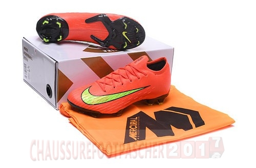Nike Chaussure De Foot Mercurial Superfly VI Elite FG Jaune Orange