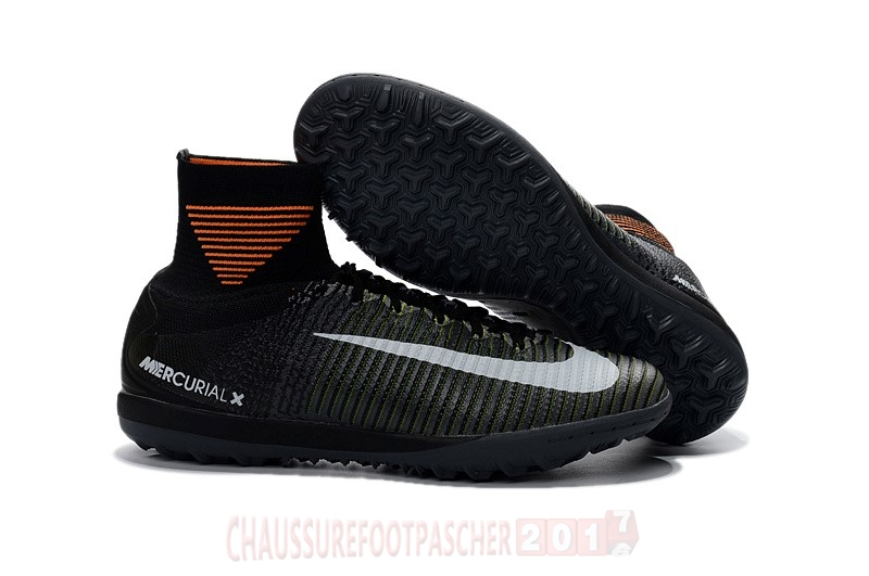 Nike Chaussure De Foot Mercurial X Proximo II MD TF Vert Orange