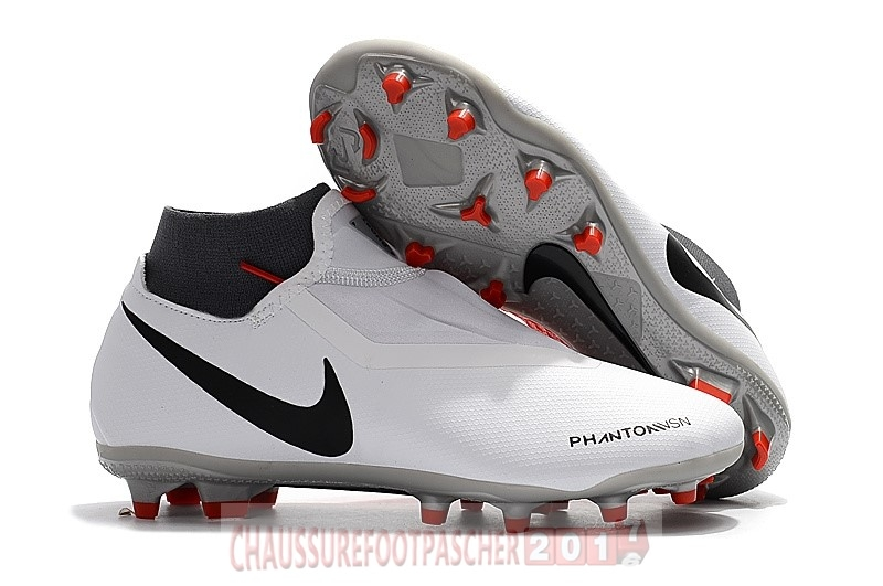 Nike Chaussure De Foot Phantom Vision Elite DF FG Blanc