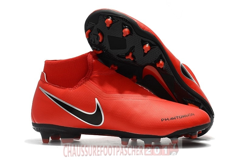 Nike Chaussure De Foot Phantom Vision Elite DF FG Rouge