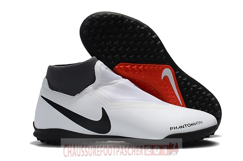 Nike Chaussure De Foot Phantom Vision Elite DF TF Blanc