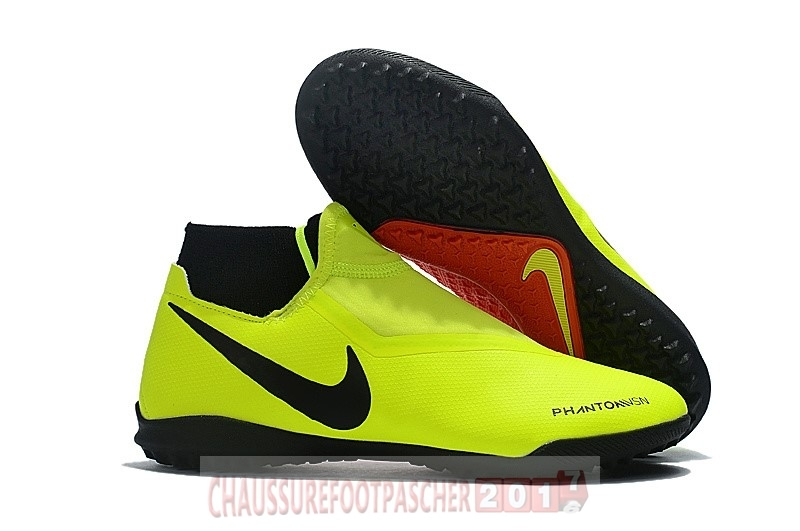 Nike Chaussure De Foot Phantom Vision Elite DF TF Jaune