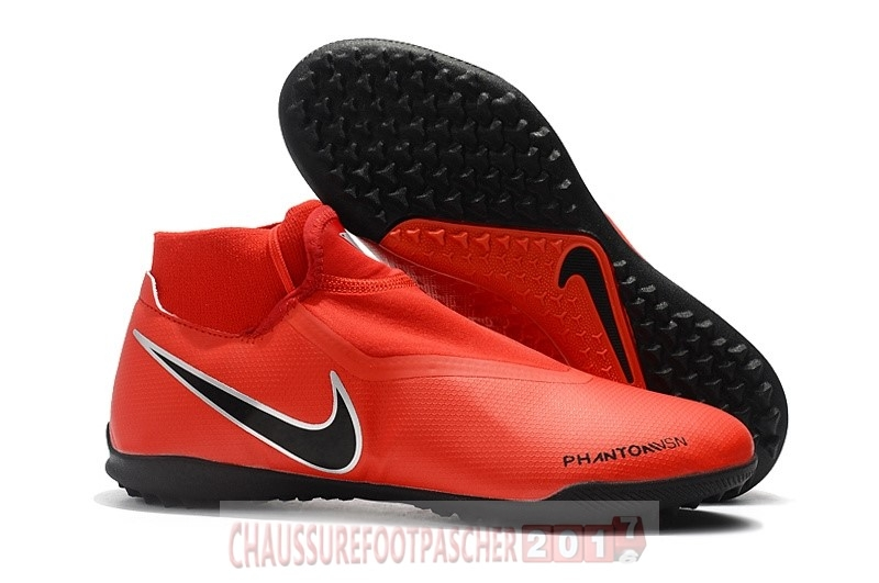 Nike Chaussure De Foot Phantom Vision Elite DF TF Rouge
