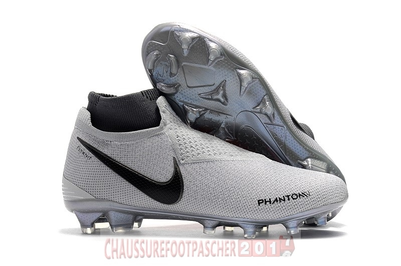 Nike Chaussure De Foot Phantom Vision Elite FG Gris