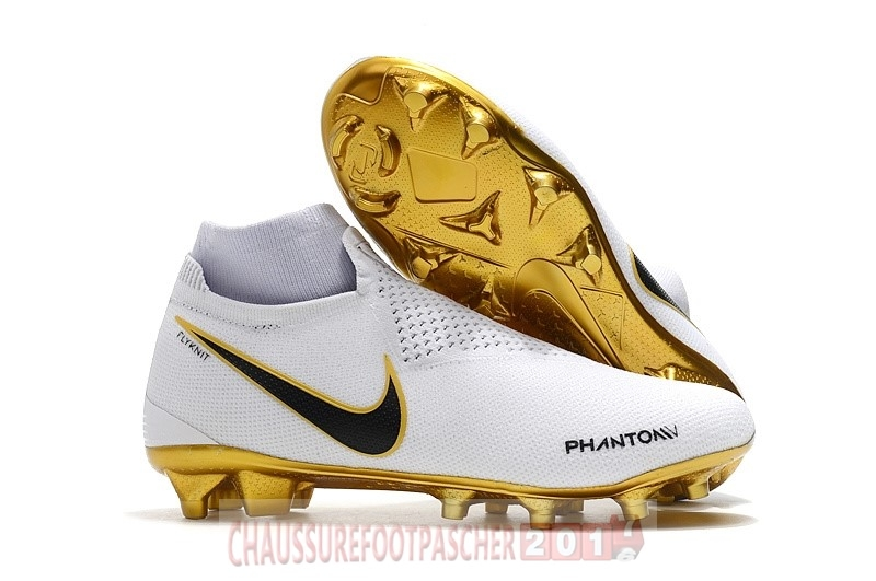 Nike Chaussure De Foot Phantom Vision Elite FG Or