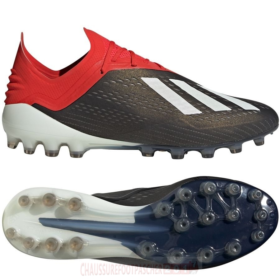 Adidas Chaussure De Foot X 18.1 AG Rouge