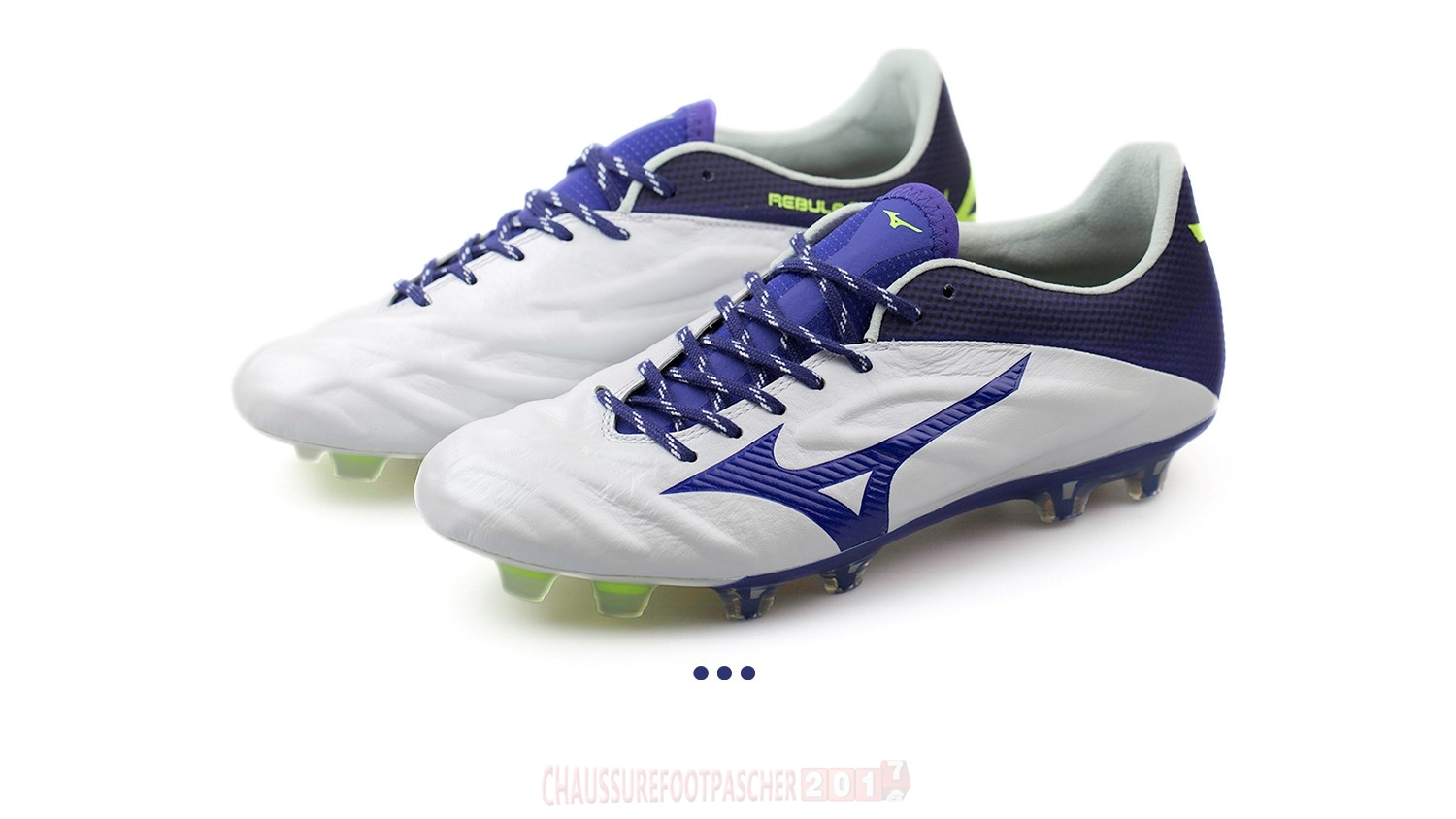 "Mizuno Chaussure De Foot Rebula 2 V1 JAPAN ""Legend Blue"" FG Blanc"