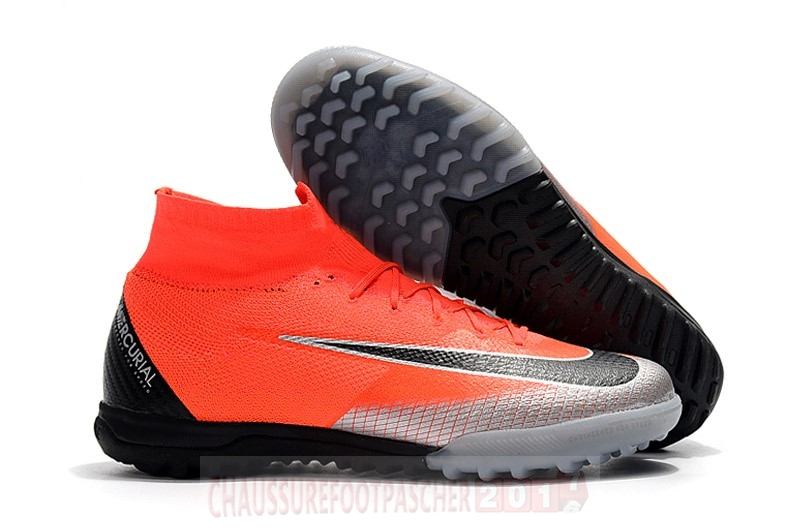 Nike Chaussure De Foot Mercurial Superfly VI Elite CR7 TF Orange