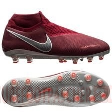 Nike Chaussure De Foot Phantom Vision Elite DF AG PRO Rouge
