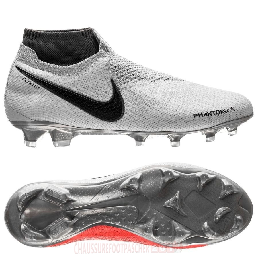 Nike Chaussure De Foot Phantom Vision Elite DF FG Gris
