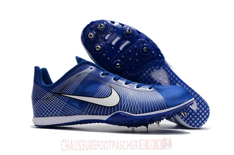 Nike Chaussure De Foot Sprint Spikes Shoes SG Bleu