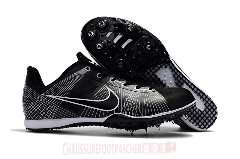 Nike Chaussure De Foot Sprint Spikes Shoes SG Noir Blanc