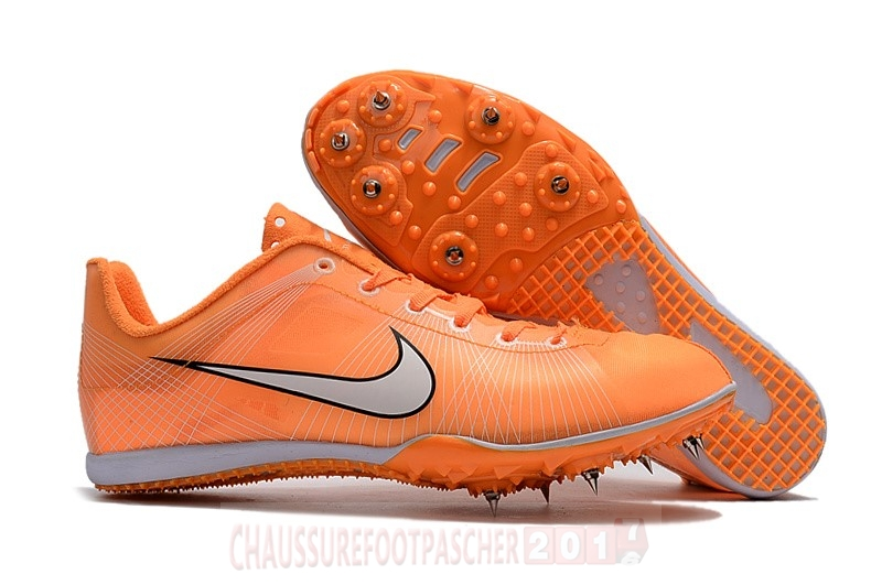Nike Chaussure De Foot Sprint Spikes Shoes SG Orange