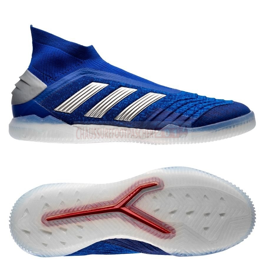 Adidas Chaussure De Foot Predator Tango 19+ IN Boost Exhibit Bleu