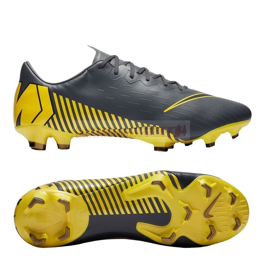 Nike Chaussure De Foot Mercurial Vapor XII Pro FG Game Over Gris Jaune