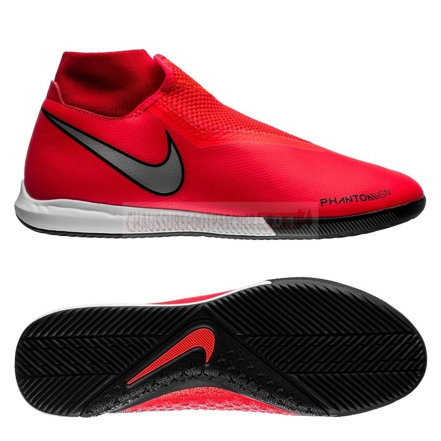Nike Chaussure De Foot Phantom Vision Academy DF IC Game Over Rouge Noir