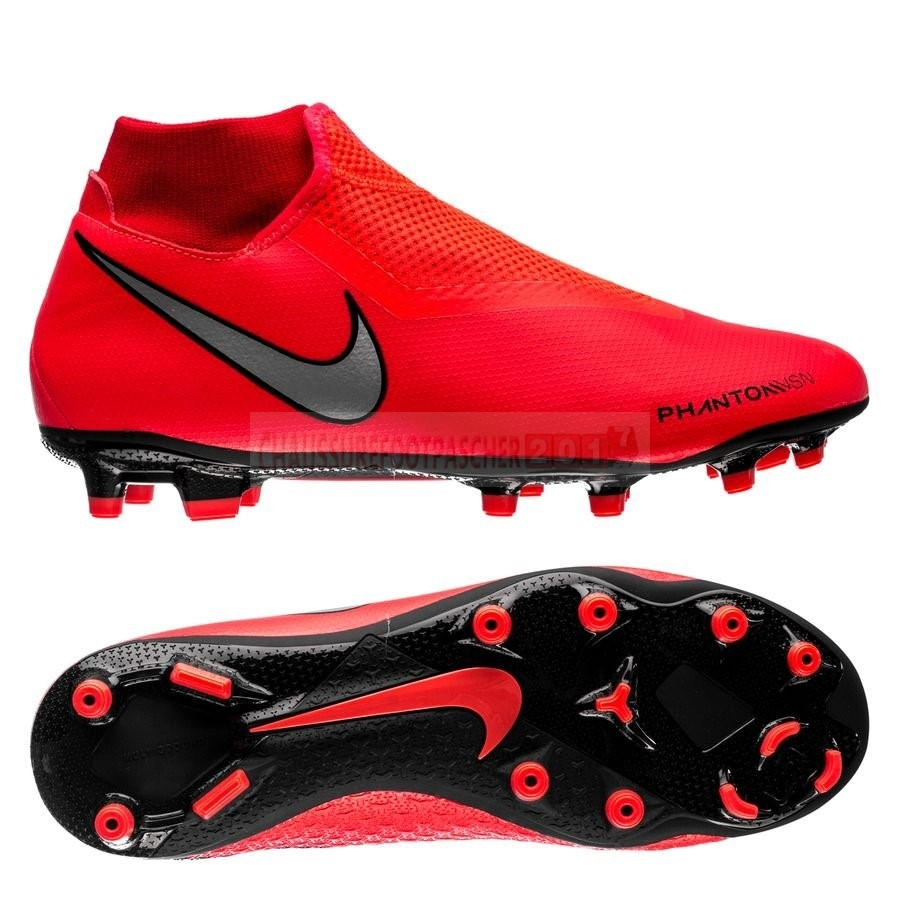 Nike Chaussure De Foot Phantom Vision Academy DF MG Game Over Rouge