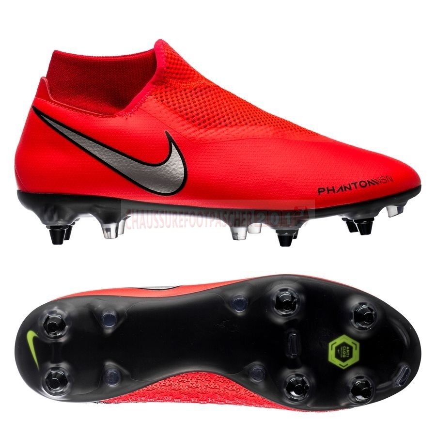 Nike Chaussure De Foot Phantom Vision Academy DF SG PRO Game Over Rouge