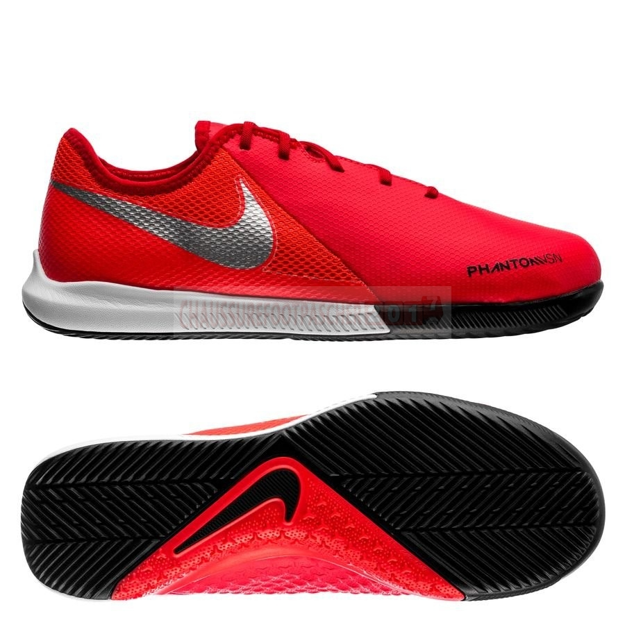 Nike Chaussure De Foot Phantom Vision Academy Enfants IC Game Over Rouge