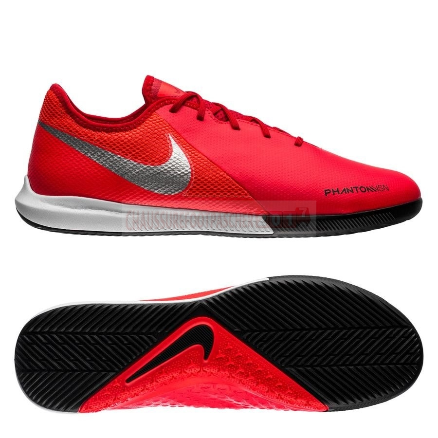 Nike Chaussure De Foot Phantom Vision Academy IC Game Over Rouge Argent