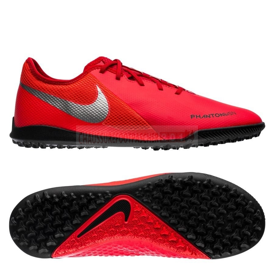 Nike Chaussure De Foot Phantom Vision Academy TF Game Over Rouge Noir