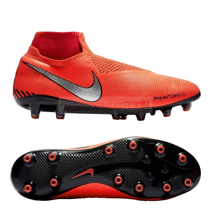 Nike Chaussure De Foot Phantom Vision Elite DF AG PRO Game Over Orange