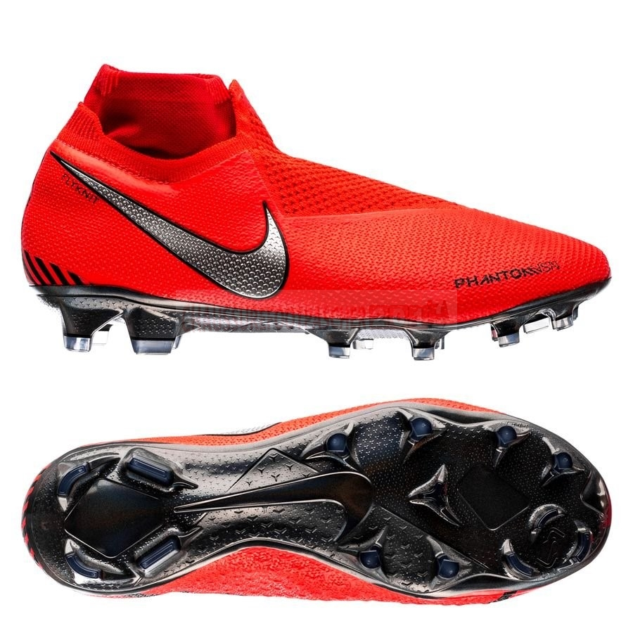 Nike Chaussure De Foot Phantom Vision Elite DF FG Game Over Rouge
