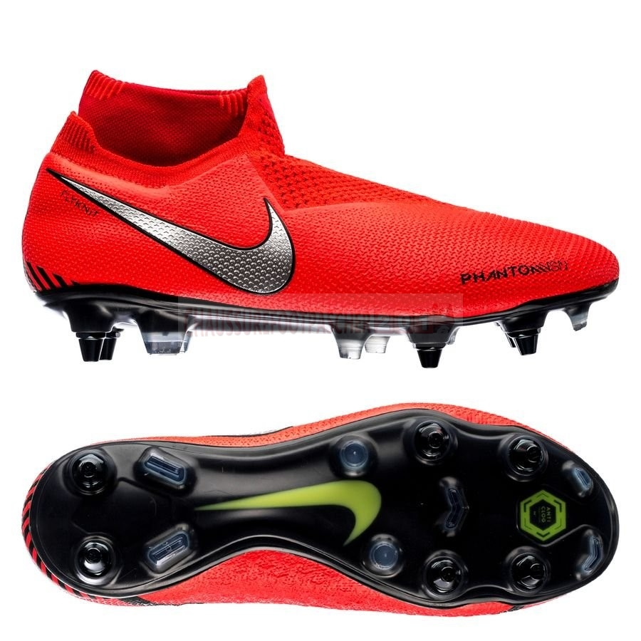 Nike Chaussure De Foot Phantom Vision Elite DF SG PRO Anti Clog Game Over Rouge