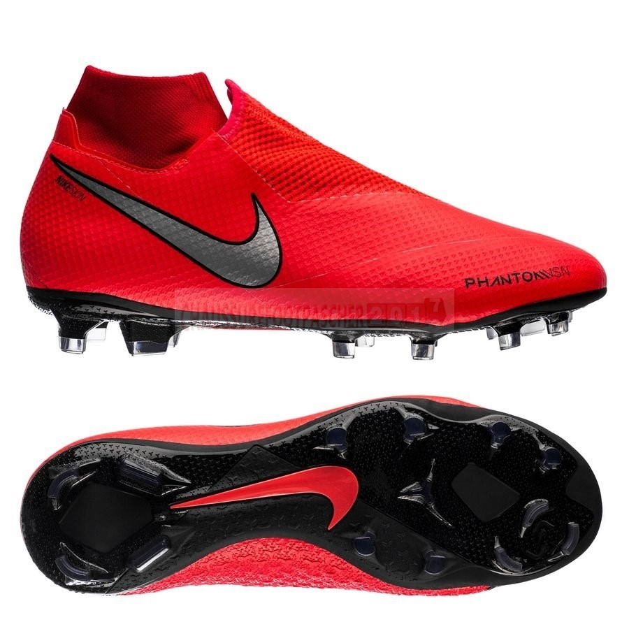 Nike Chaussure De Foot Phantom Vision Pro DF FG Game Over Rouge