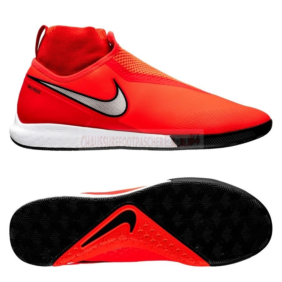 Nike Chaussure De Foot Phantom Vision React Pro DF IC Game Over Rouge
