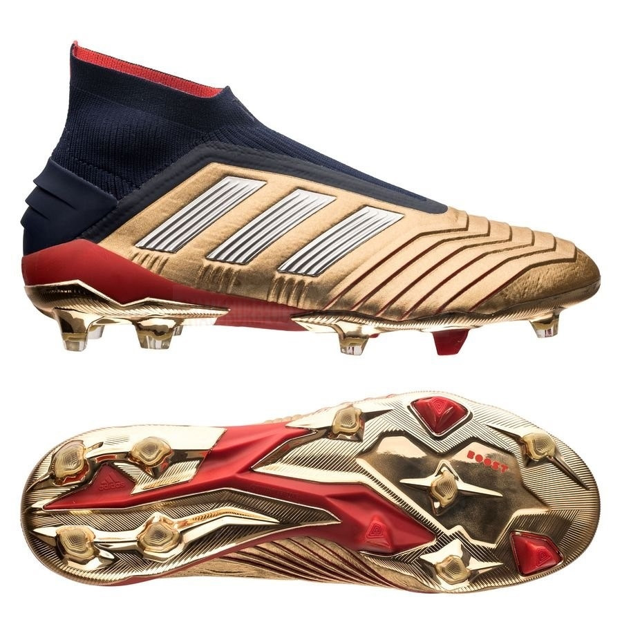 Adidas Chaussure De Foot Predator 19+ ZZ&DB Icon FG/AG Or