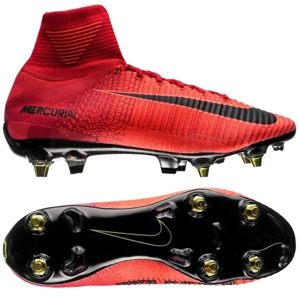 Nike Chaussure De Foot Mercurial Superfly SG Pro Anti Clog Rouge