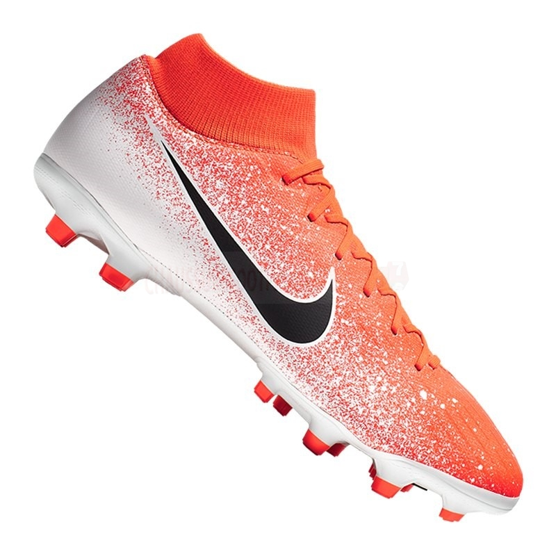 Nike Chaussure De Foot Mercurial Superfly VI Academy MG Orange