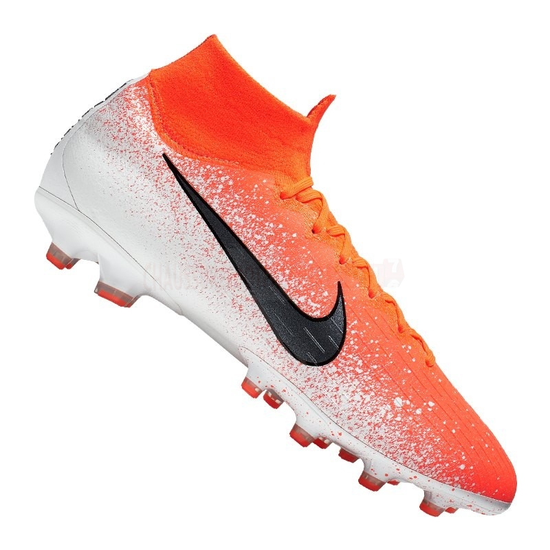 Nike Chaussure De Foot Mercurial Superfly VI Elite AG Pro Orange