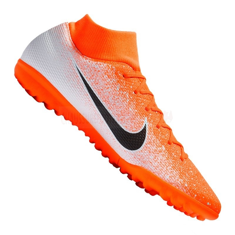 Nike Chaussure De Foot Mercurial SuperflyX VI Academy TF Orange