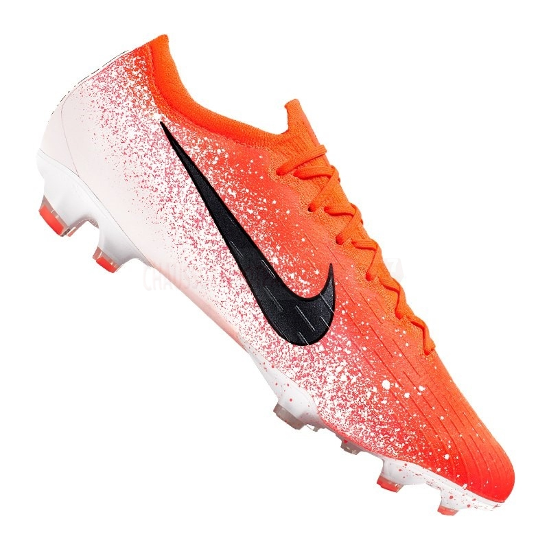 Nike Chaussure De Foot Mercurial Vapor XII Elite FG Orange