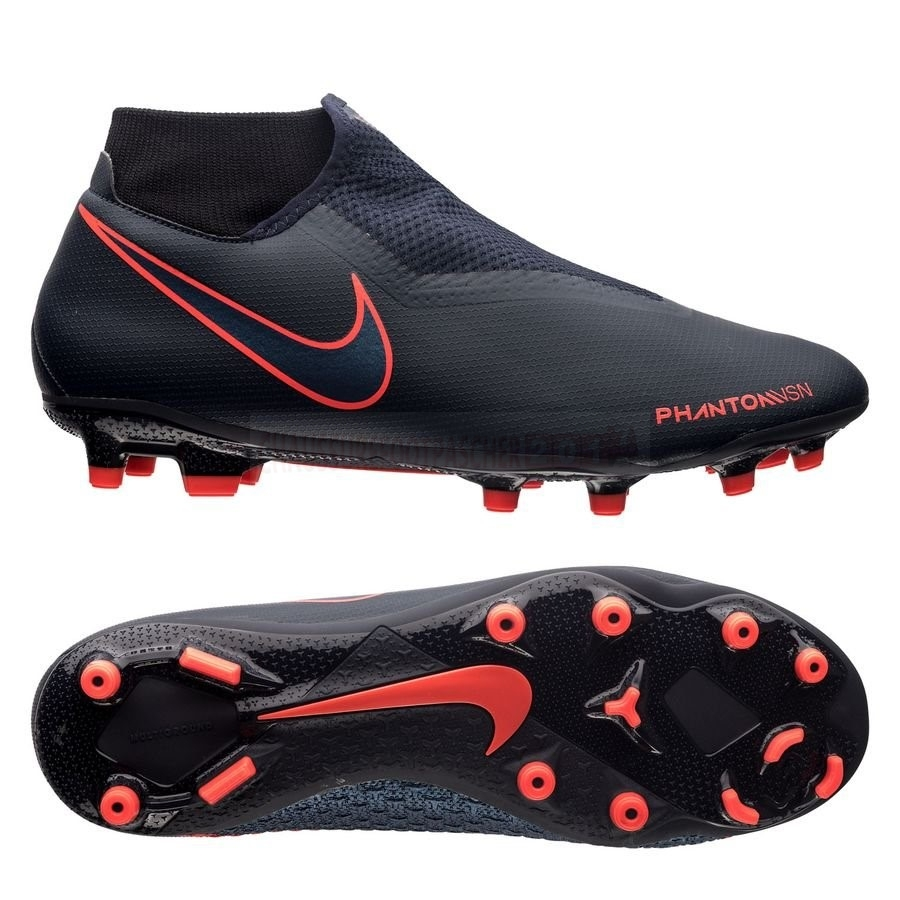 Nike Chaussure De Foot Phantom Vision Academy DF MG Fully Charged Noir