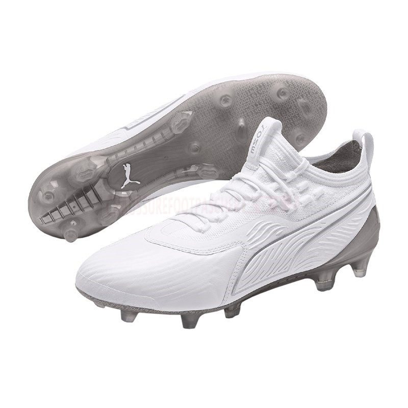 Puma Chaussure De Foot One 19.1 Limited Edition FG Blanc