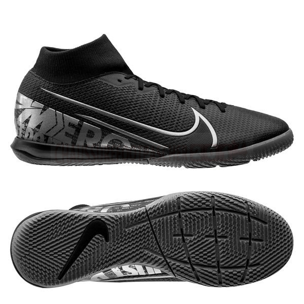 Nike Chaussure De Foot Mercurial Superfly 7 Academy IC Noir Gris