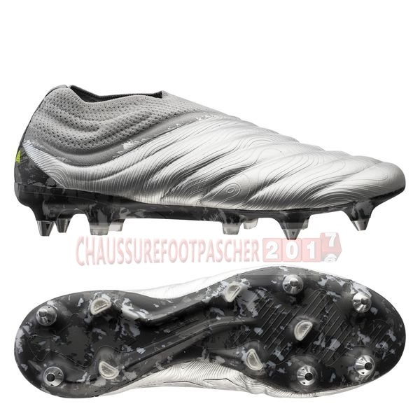 Adidas Chaussure De Foot Copa 20+ SG Encryption Argent