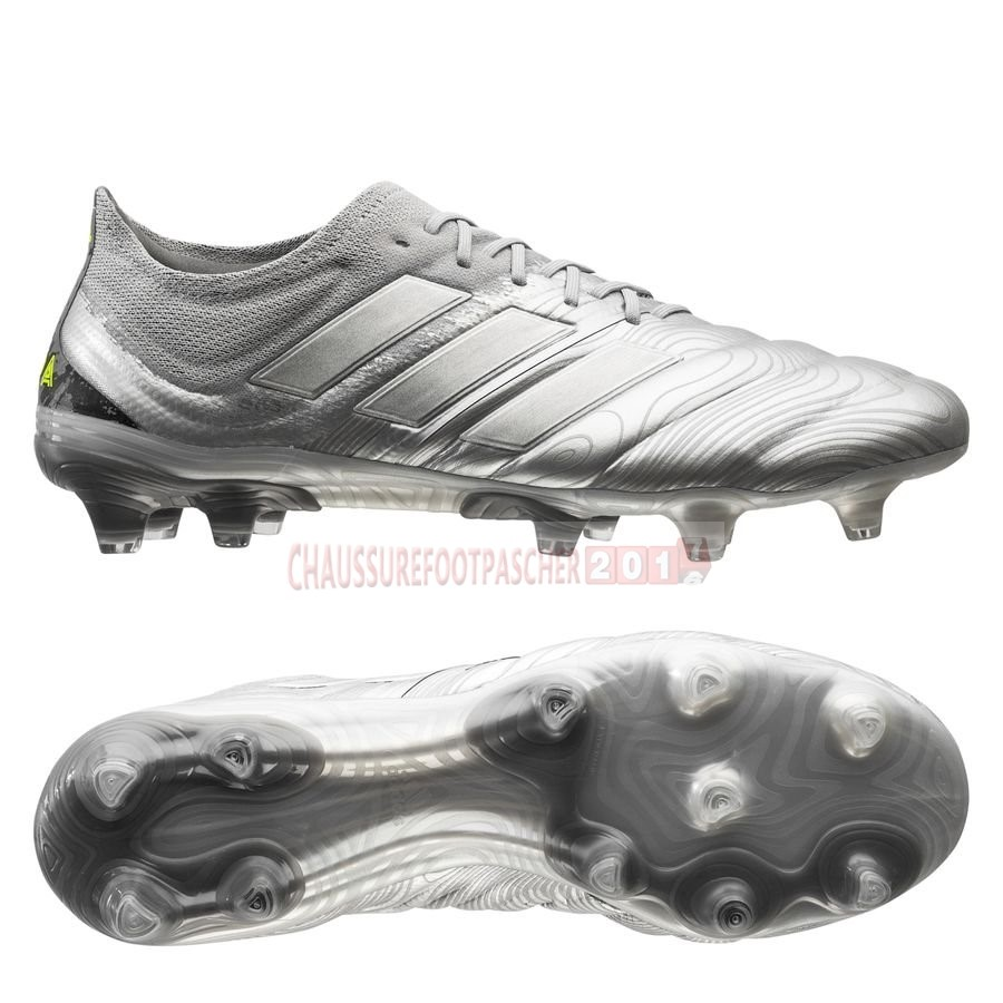 Adidas Chaussure De Foot Copa 20.1 FG/AG Encryption Argent
