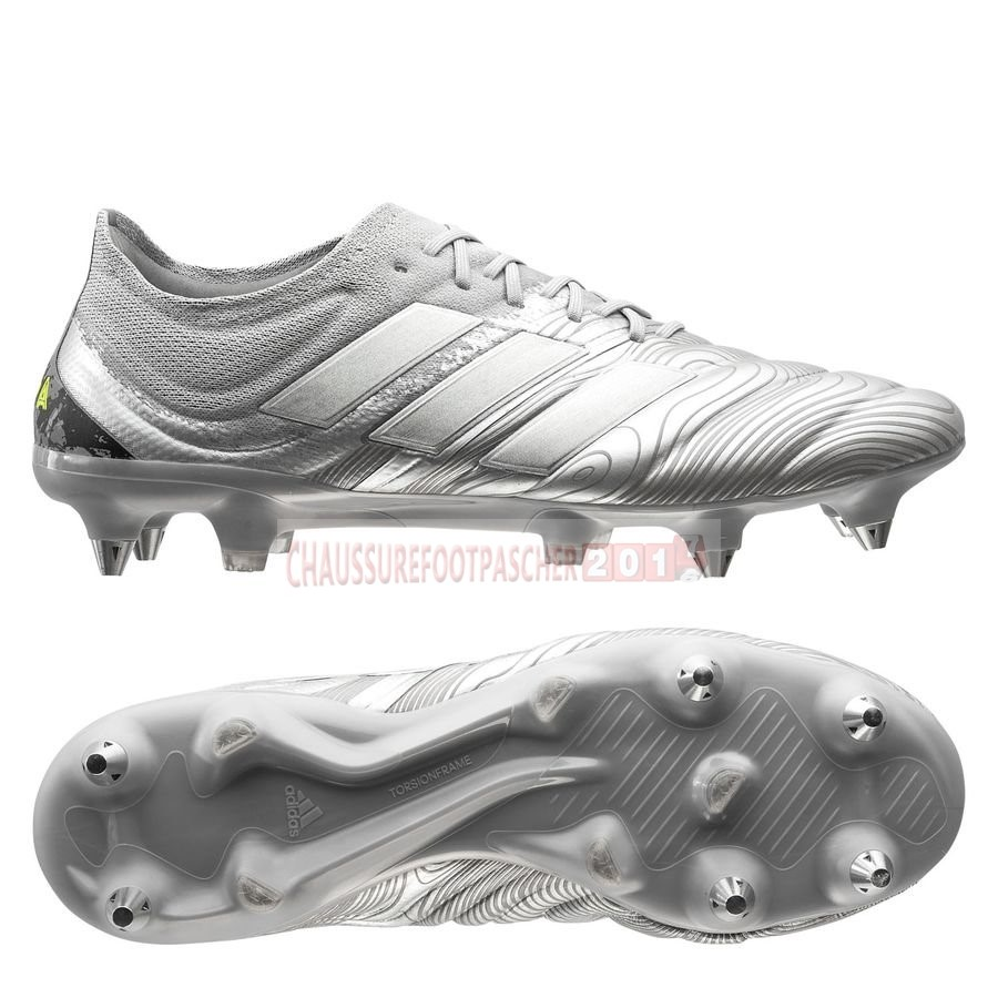 Adidas Chaussure De Foot Copa 20.1 SG Encryption Argent