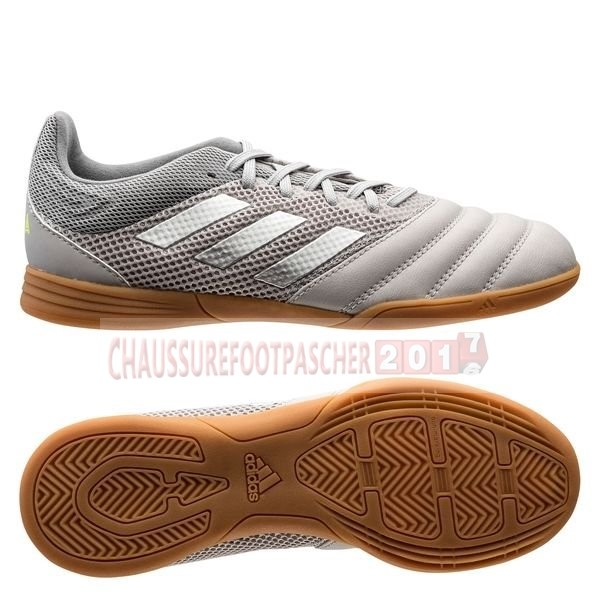 Adidas Chaussure De Foot Copa 20.3 Sala IN Encryption Gris Brun