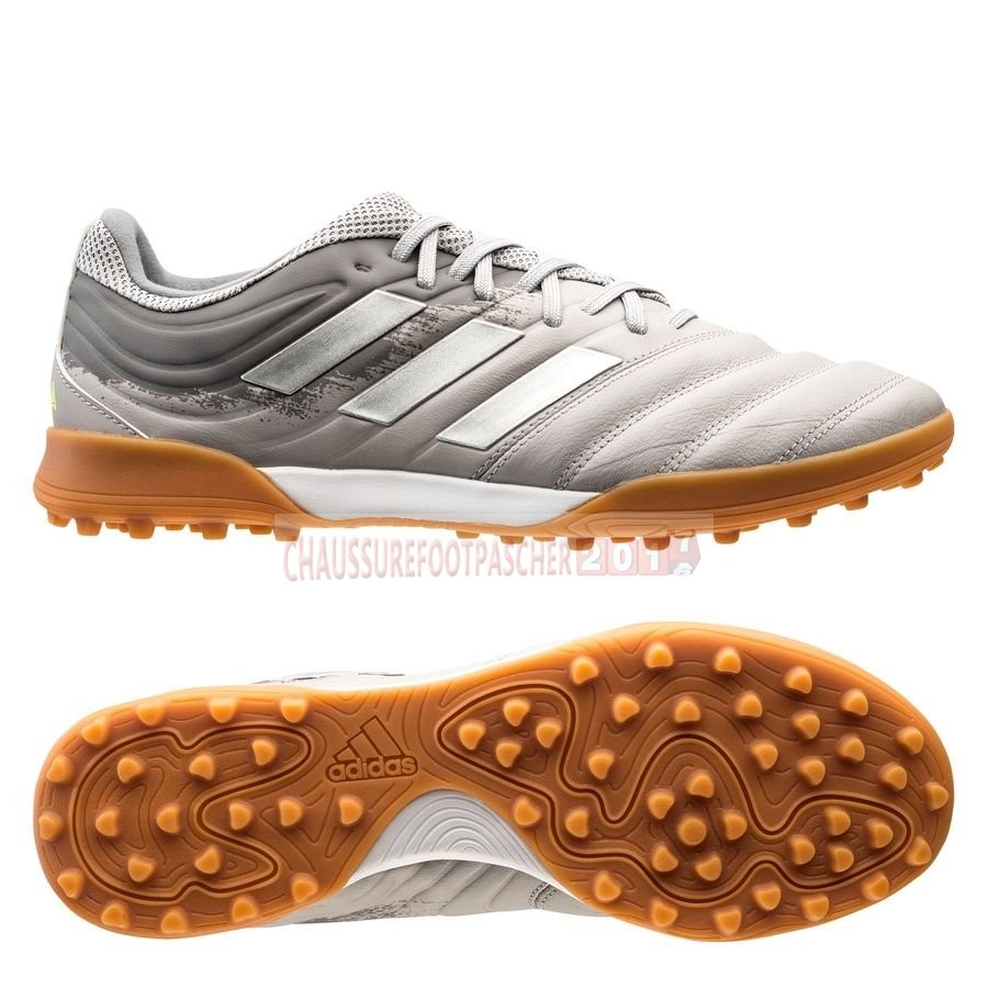 Adidas Chaussure De Foot Copa 20.3 TF Encryption Gris