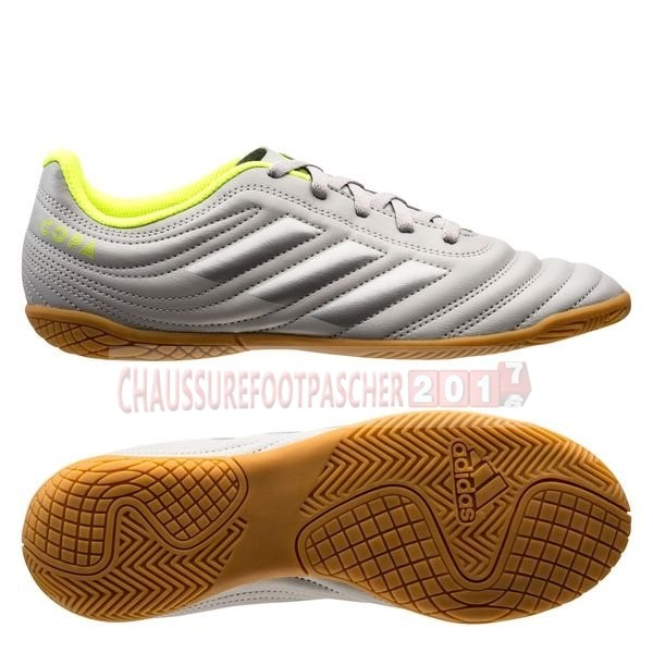 Adidas Chaussure De Foot Copa 20.4 IN Encryption Gris