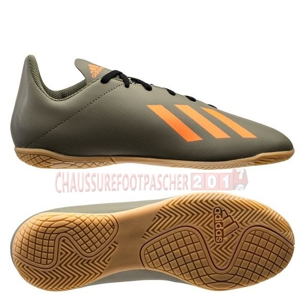 Adidas Chaussure De Foot X 19.4 IN Encryption Brun
