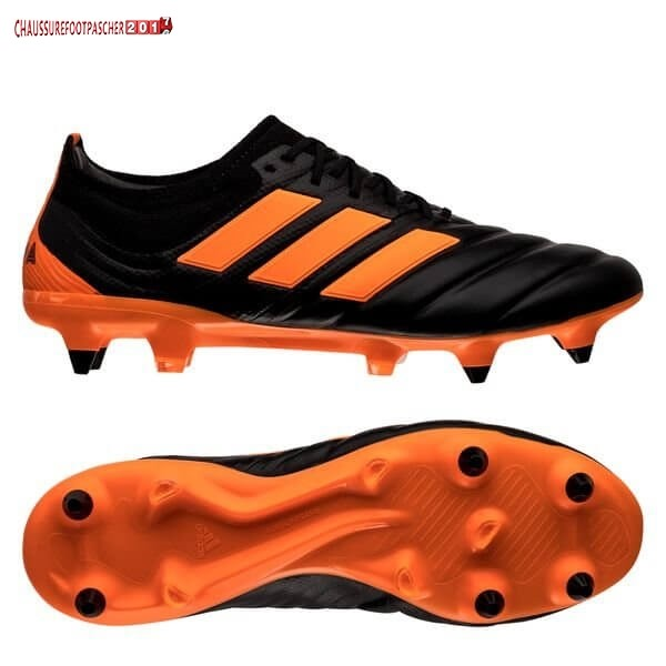 Adidas Chaussure De Foot Copa 20.1 SG Precision To Blur Noir Orange